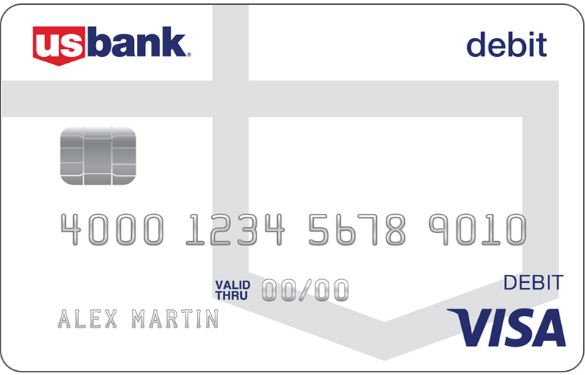 US Bank Debit Card Design