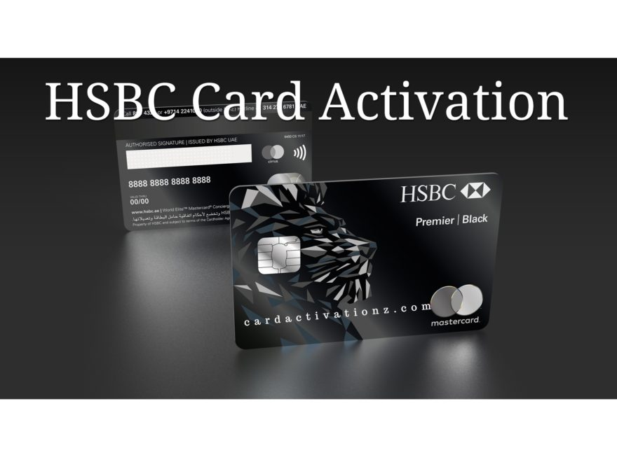 😋Activate HSBC Card | HSBC Debit Card Activation 😋