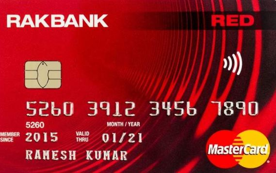 RAK Bank Debit Card Activation