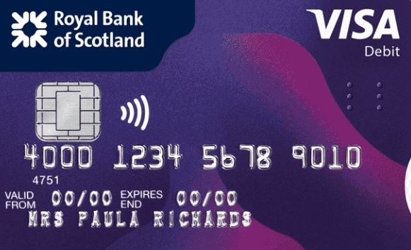 RBS Debit Card Activation