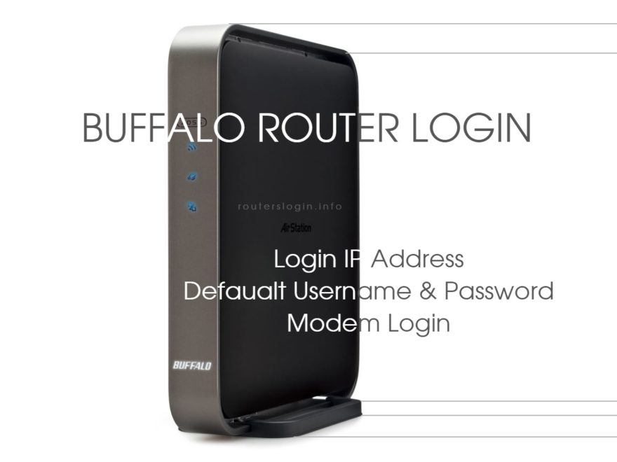 Buffalo Router Login