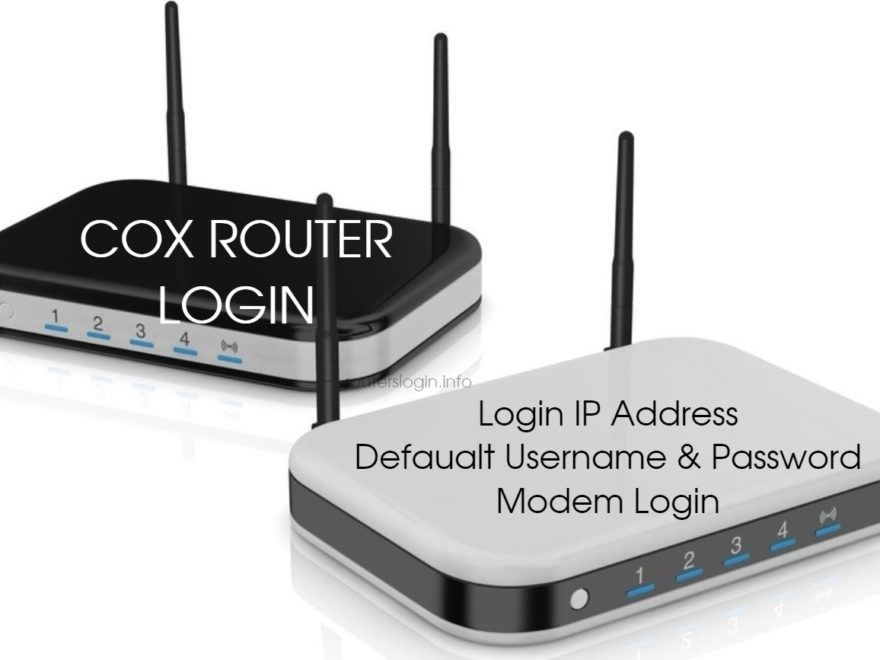 Cox Router Login