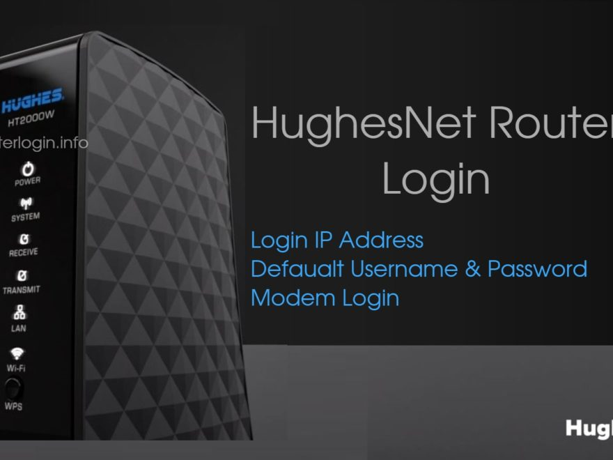 HughesNet Router Login