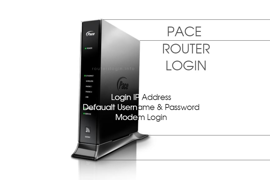 Pace Router Login